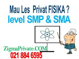 les privat fisika sma dan SMP
