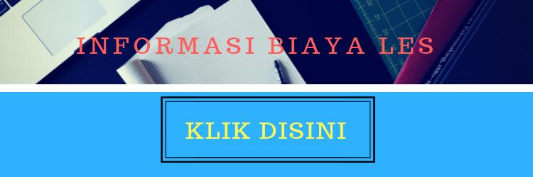 INFORMASI BIAYA LES PRIVATY DI JAKARTA TIMUR